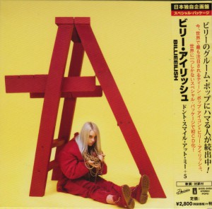 Dont Smile At Me [Japanese Edition] by Billie Eilish