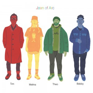 Tim Melina Theo Bobby by Joan of Arc
